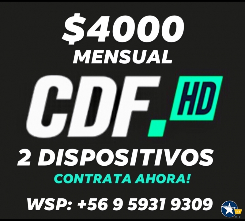 Estadio CDF / CDF HD / $4000 mensual